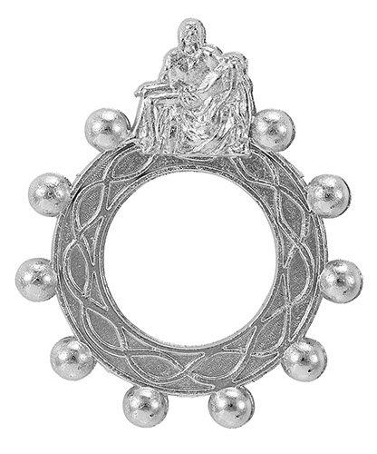 Pieta Rosary Ring - 50/pk