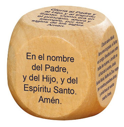 Favorite Catholic Prayers Prayer Cube™ - Spanish