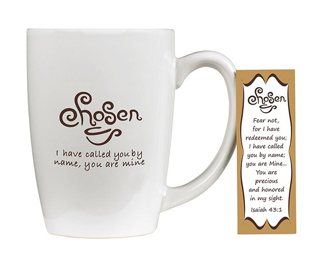 Chosen, I Have Called You By Name Mug with Bookmark Set - 4/pk