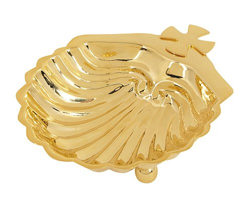 Baptismal Shell - Gold Plated