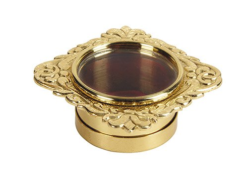Round Personal Reliquary