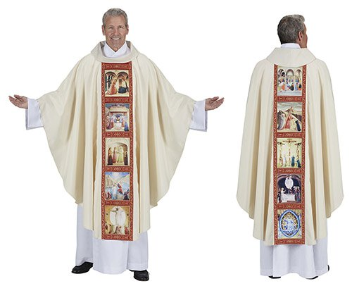 Life of Christ Chasuble