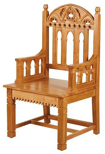 Gothic Celebrant Chair