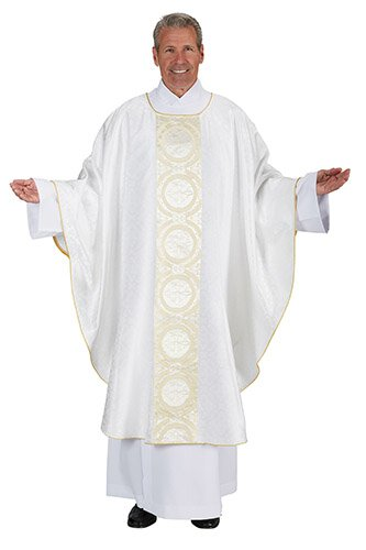 Gold Medallion Chasuble