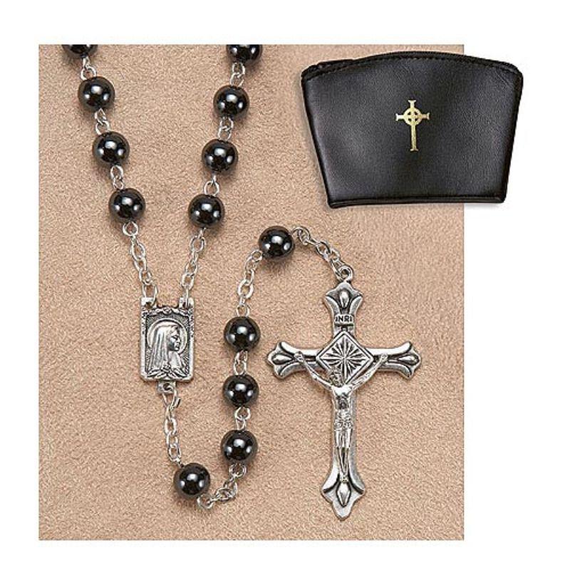 Creed® Genuine Hematite Rosary