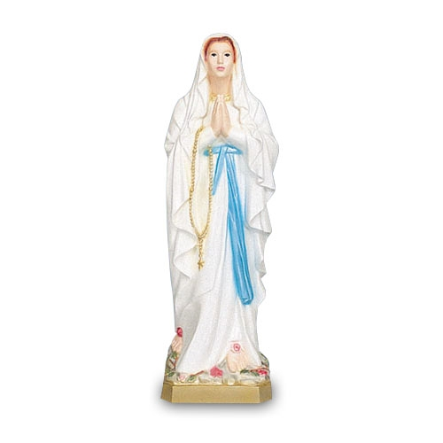 "24"" Our Lady of Lourdes Statue"