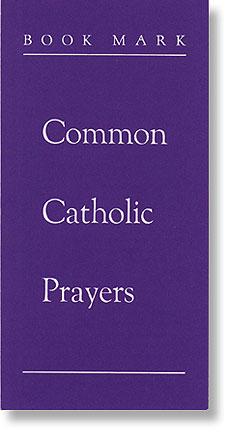 Common Catholic Prayers