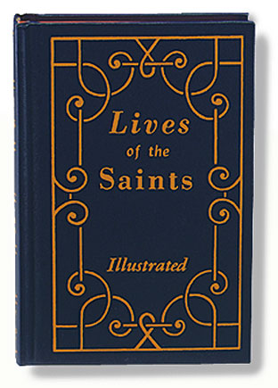 Lives of the Saints Vol I Large Print Edition