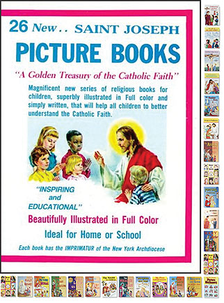 St. Joseph Picture Book of Saints Gift Set (26 Asst)