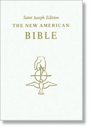 White St Joseph NABRE Deluxe Gift Edition