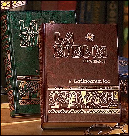 La Biblia Latinoamerica (Letra Grande)
