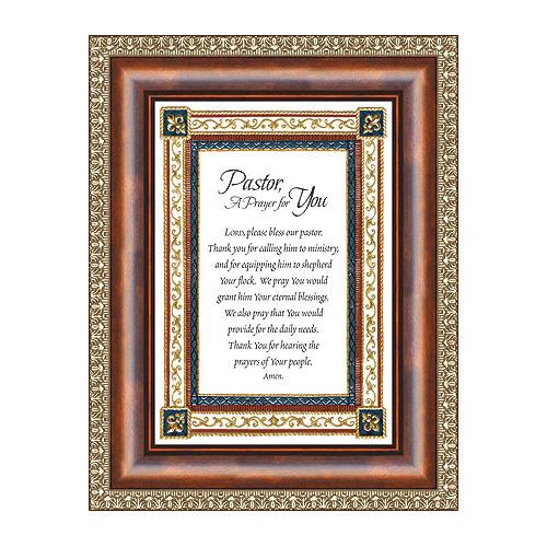 Pastor, A Prayer For You Frame