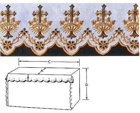 Cross Altar Linen