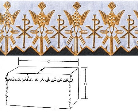 Embroidered Altar Linen