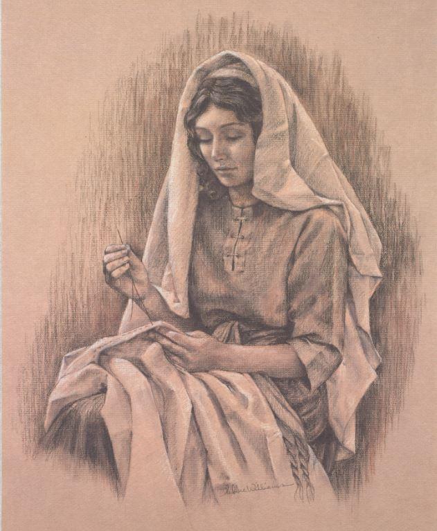 Mary Mother/Carpenter Framed Print