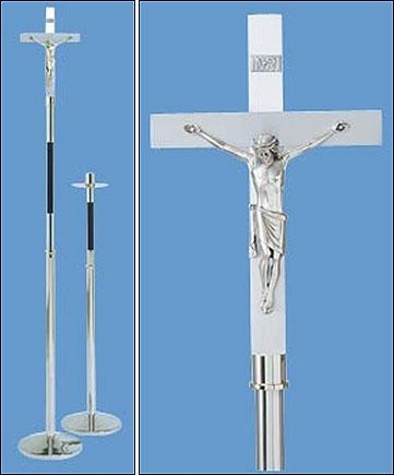 Processional Crucifix w/Stand