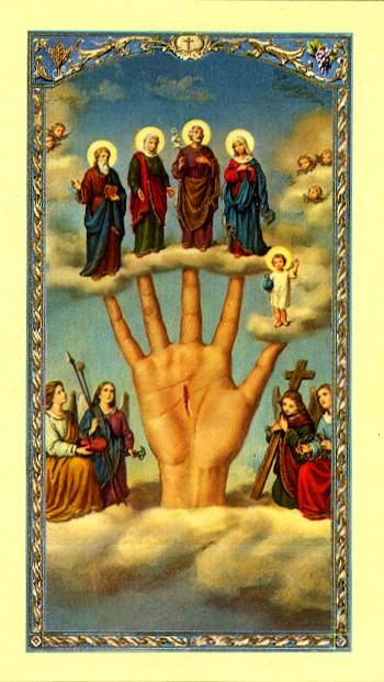 Oracion al Brazo Poderoso Spanish Holy Cards