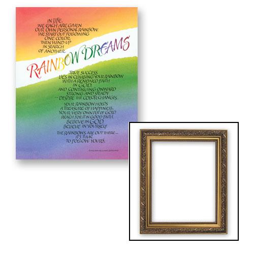 Rainbow Dreams Frame