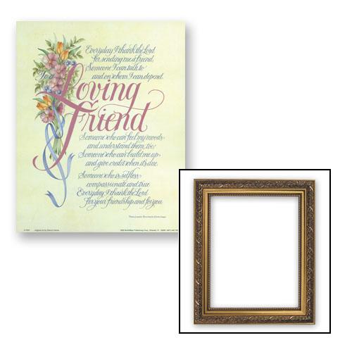 Loving Friend Frame