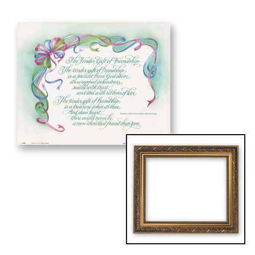 Gift of Friendship Frame