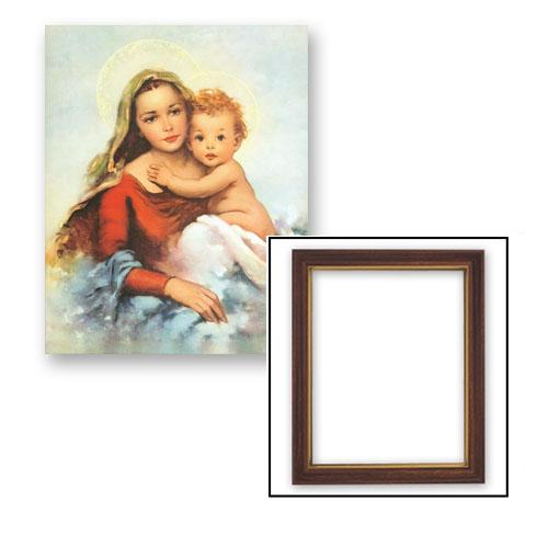 Madonna & Child Framed Print
