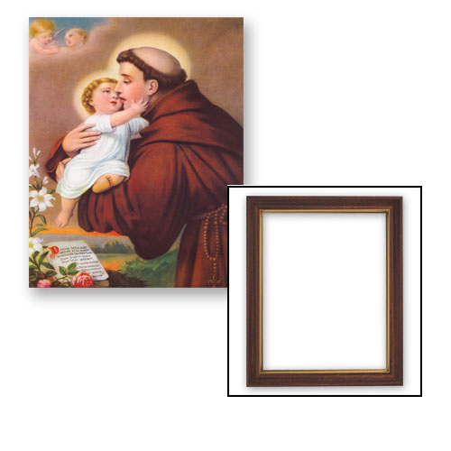 "10x12.5"" Saint Anthony Frame"