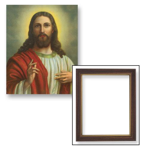 """10x12.5"""" Christ Blessing Frame"""