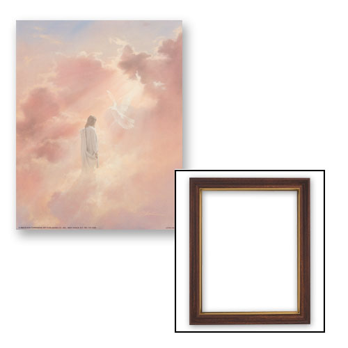 10x12.5 Christ and Holy Spirit Frame