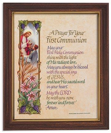 Communion Prayer - Boy