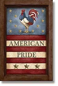 American Pride Framed Wall Art