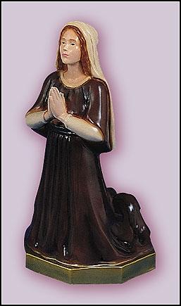 """16"""" St Bernadette Statue"""