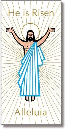3' x 6' He is Risen Banner