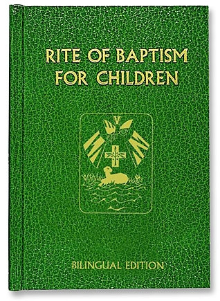 Rite of Baptism for Children - Bilingual Edtn