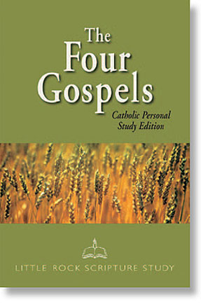 The Four Gospels: Catholic Personal Study Edition