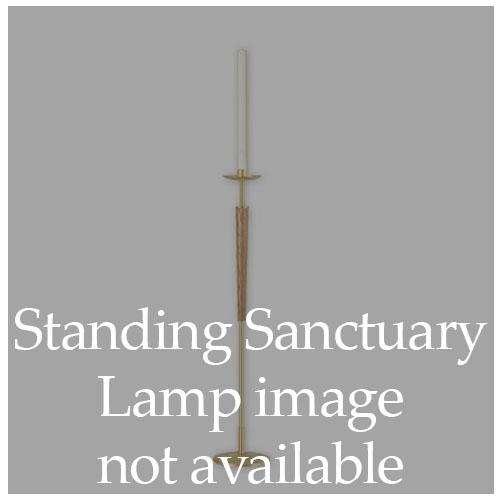 Standing Sanctuary Lamp