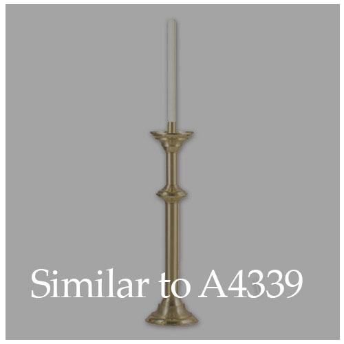 """Short Paschal Candlestick - 30"""" H"""