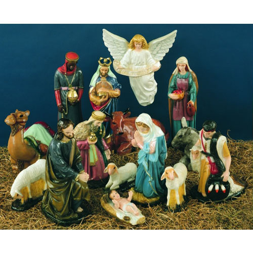 "Full 36"" Nativity Set"