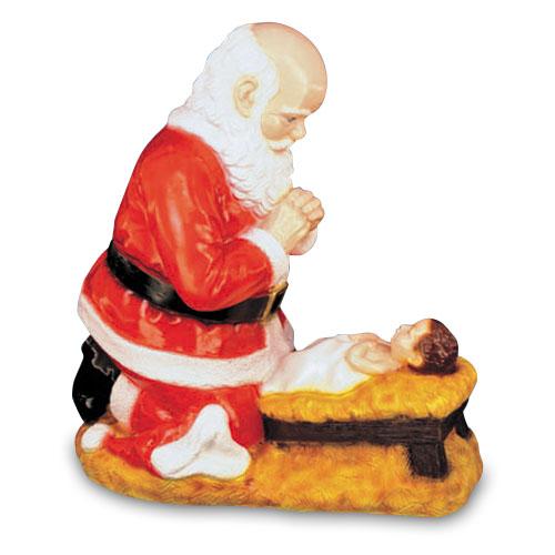 "24"" Kneeling Santa"