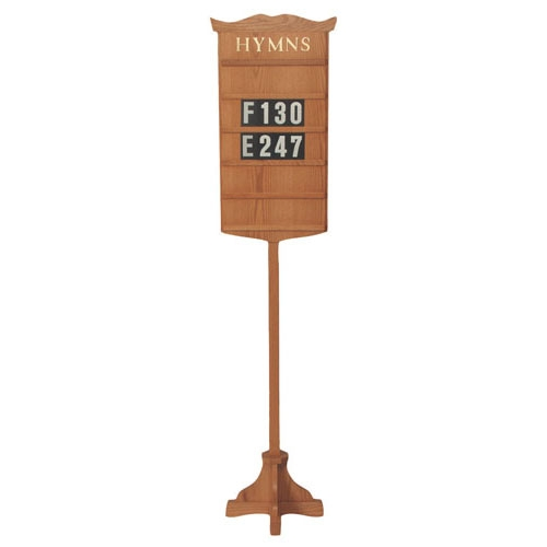 Hymn Board with Stand