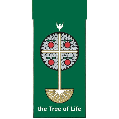 3' X 6' Tree Of Life Banner