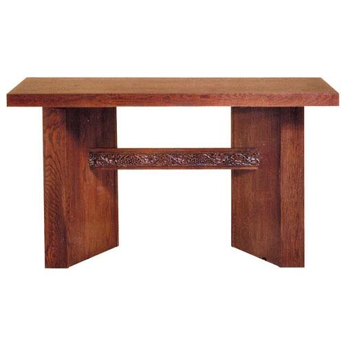 Oak Altar Table