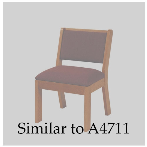 Church Furniture & Accessories Chair with Rear Under