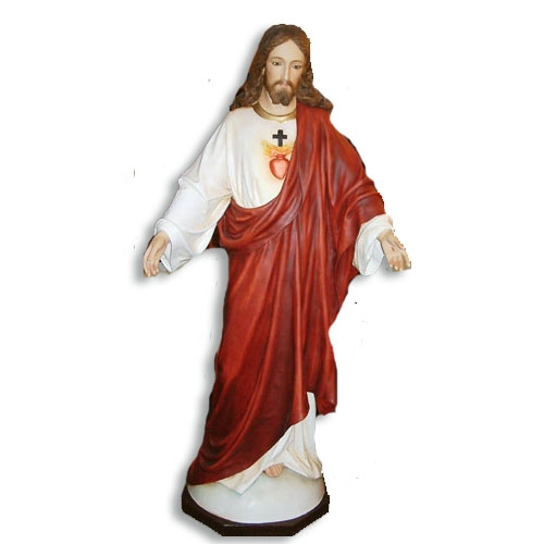 "60"" Sacred Heart Statue"