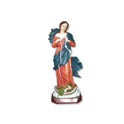 """Mary Undoer Knots Statue - 12"""""""