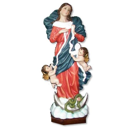 """Mary Undoer Knots Statue - 16"""""""