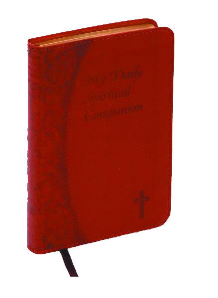 My Daily Spiritual Companion - Burgundy Imit. Leather