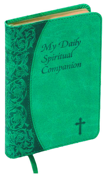 My Daily Spiritual Companion - Green Imit. Leather