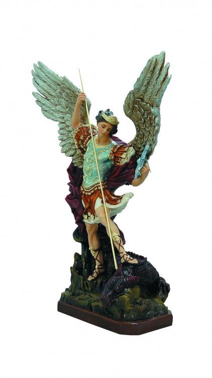 28 St. Michael Statue