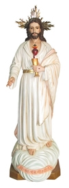 "60 Eucharistic Heart of Jesus Statue"""