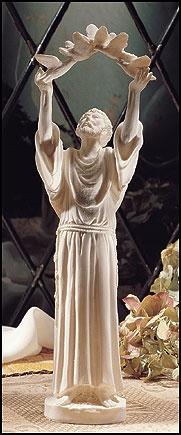 "10"" St Francis Statue"